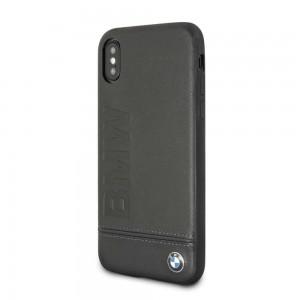 BMW - Signature Logo Hard Case iPhone X / XS - Black