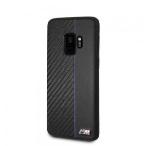 BMW - Hard Case Blue Stripe Samsung S9 - Black