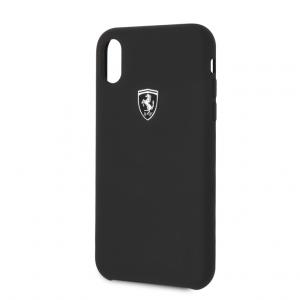 Ferrari - Silicone Case iPhone XR - Black