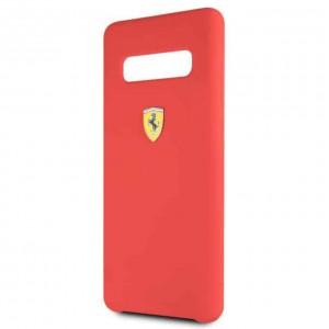 Ferrari - Silicone Case Samsung Galaxy S10 - Red
