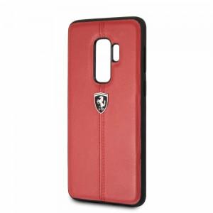 Ferrari - Hardcase Contrasted Stripe Samsung S9 Plus - Red