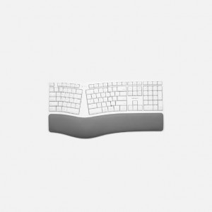 Macally Ergonomic Wired USB-A Keyboard with Palm Rest (US)