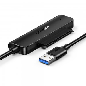 Ugreen USB3.0 M TO SATA III HDD/SDD Adapter Black