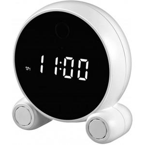 Tuya Smart Clock with Camera 1080P Wireless Smart Security Cam