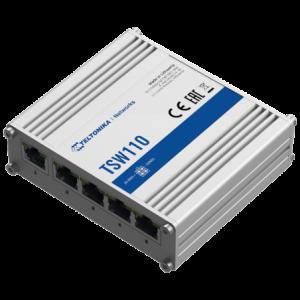 Teltonika - 5-port Industrial Gigabit Switch - Unmanaged L2