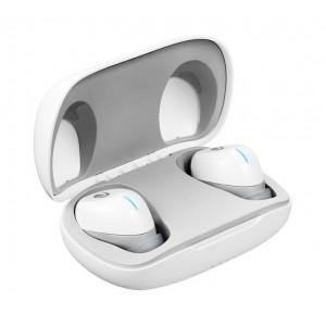 Volkano Pico 2.0 Series True Wireless Bluetooth Earbuds - White