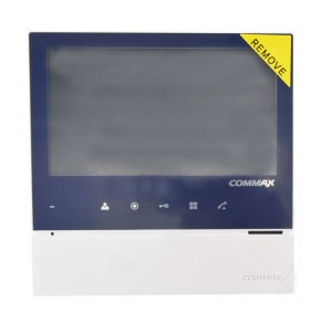 """Commax Col 7"""" Hands Free Touch Button Video Monitor only CDV-70H"""