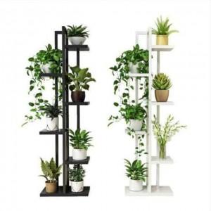 Fine Living Garden Rack Stand - White