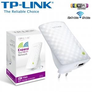TP-LINK AC750 WIFI RANGE EXTENDER PLUG