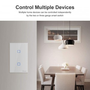 SONOFF TX 01 WiFi Smart Light Switch - 1 Gang