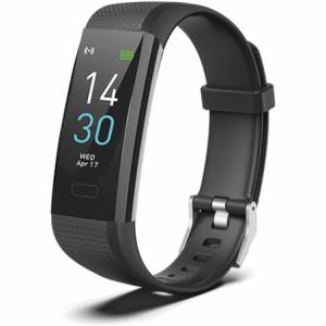 Geeko SW03 Unisex Sport Bracelet Smart Watch and Fitness Tracker - Black