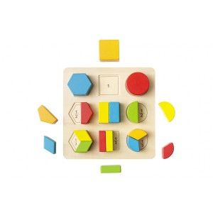 Nuovo Wooden Block Puzzle - 9 Shapes