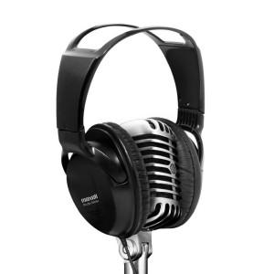 Maxell ST-2000 Studio Full Size Headphones - Black