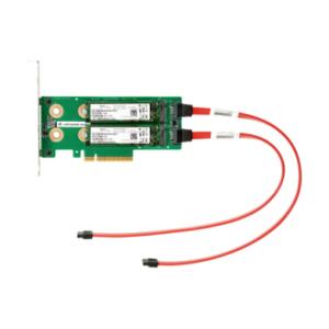 HPE Universal SATA 6G AIC HHHL M.2 SSD Enablement Kit