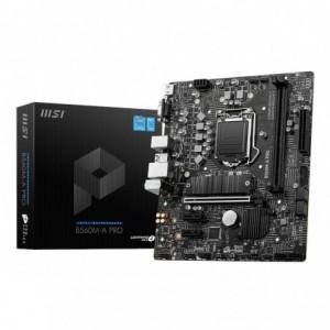 MSI B560M-A Pro Intel 1200 Micro-ATX Motherboard – Black