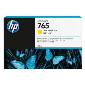 HP 765 400-ml Yellow Designjet Ink Cartridge