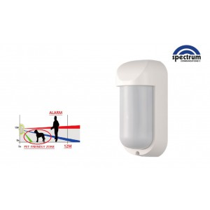 Atsumi Wired 90° Outdoor Detector 433 Mhz