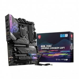 MSI Z590 Gaming Carbon Wifi Intel LGA1200 ATX Gaming Motherboard