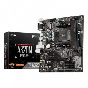 MSI A320M PRO-VH AMD AM4 M-ATX Gaming Motherboard