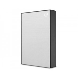 Seagate One Touch 4TB 2.5 inch Portable Hard Drive - Silver