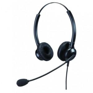 Talk2 Eco Range Binaural Headset with Flexable Adjustable Mic
