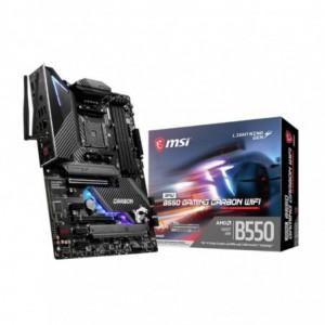 MSI MPG B550 Gaming Carbon WIFI AM4 ATX Motherboard – Black