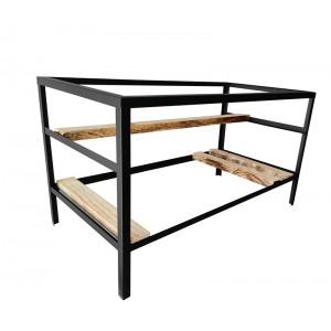 Steel Frame Mining Case (Frame only) - Black