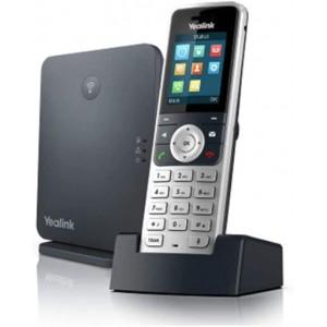 Yealink Dect W53P - Dect Solution Base + W53 Handset - 8 handset registrations with 8 concurrent Voip calls