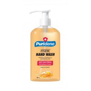 Puridene Hygienic Hand Wash Milk and Honey - 500ml