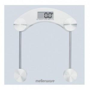 Mellerware Glass Bathroom Scale 180kg 3v