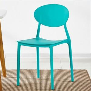 Fine Living Curvilinear Chair - Blue