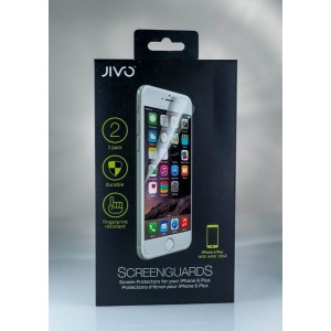 JIVO Screen Guards for the iPhone 6/6S Plus - 2 Pack