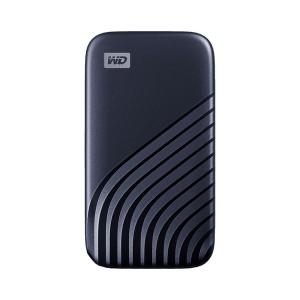 WD 2TB My Passport Portable Solid State Drive - USB 3.2 Gen 2 Midnight Blue