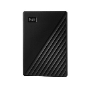 WD My Passport 4TB Black Portable Hard Drive