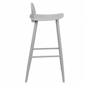 Lotus Bar Chair - Grey
