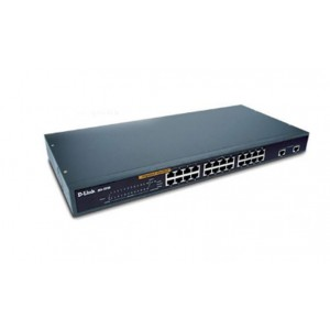 D-Link 24 Port 10/100Mbps Desktop Ethernet Switch - with 2 x 10