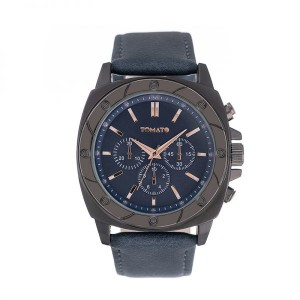 Tomato Gents Gunmetal 47mm Case Navy Blue Dial Watch