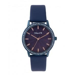 Tomato Ladies Navy Dial Blue + Stone 36mm Case Navy Strap Watch