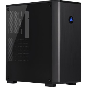 Carbide - Series 175R RGB Tempered Glass Mid-Tower ATX Gaming Chassis - Black