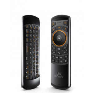 Rii Mini i25  Multifunction 2.4Ghz Wireless Air Mouse Keyboard Combo - Rechargeable LI-ION Battery