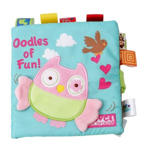 Nouvo Interactive Baby Fabric Book - Owl