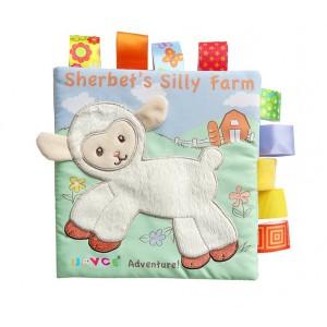 Nouvo Interactive Baby Fabric Books - Sheep