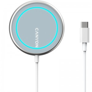 Canyon WS-100 Wireless Charger - Silver