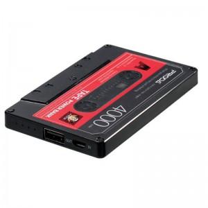REMAX TAPE POWERBANK 4000MAH BLACK+RED (PPP-15)