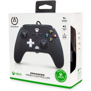 PowerA - Enhanced Wired Controller - Black (Xbox One, Xbox Series X S)
