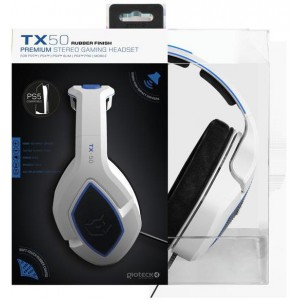 Giotek - TX50 Premium Stereo Gaming Headset - White (PS5)