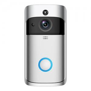 Smart Wireless WIFI Video Doorbell - WE-D19 - SILVER