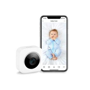 SwitchBot 1080P Security Indoor Camera with Motion Detection for Baby Monitoring