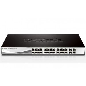 D-Link 48 Port 10/100/1000Mbps Layer 2 Managed Ethernet Switch