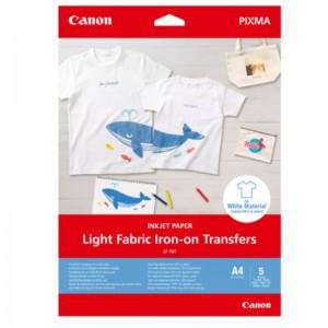 Canon LF-101 Light Fabric Iron-on Transfers - A4, 5 sheets
